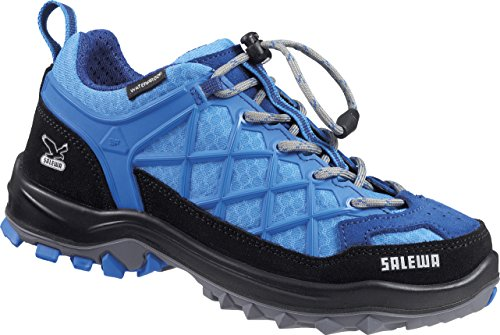 Salewa JR WILDFIRE WATERPROOF, Chaussures de Fitness mixte enfant Bleu - Blau (3511 Winter Night/Davos)