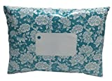 """25 x Teal Floral Printed Mailing Bags - 162mm x 230mm 6"""" x 9"""" - Post Plastic Polybag Poly Strong Self Seal"""