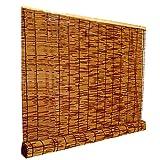 rideau de roseau store enrouleur bambou rétro romain paille rideau moisissure...