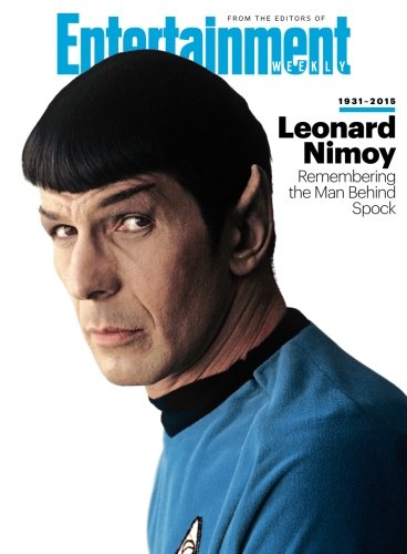 ENTERTAINMENT WEEKLY Leonard Nimoy, 1931-2015: Remembering the Man Behind Spock - 1931-magazin