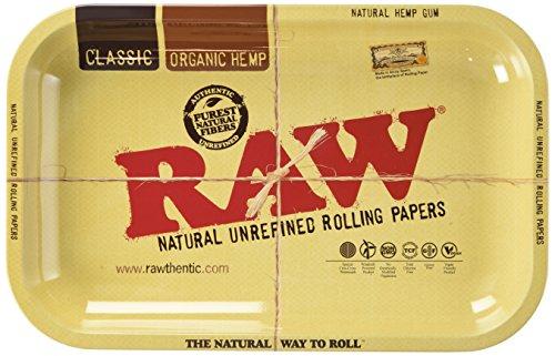 Preisvergleich Produktbild RAW Metal Rolling Tray (small 17.5 x 27.5 cm)
