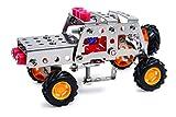 Michel Toys 8348 Metallbausatz Geländewagen, 125 teilig