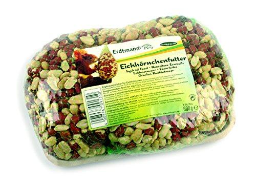 Aliments complémentaires pour Écureuil 600gr (2 sachets),