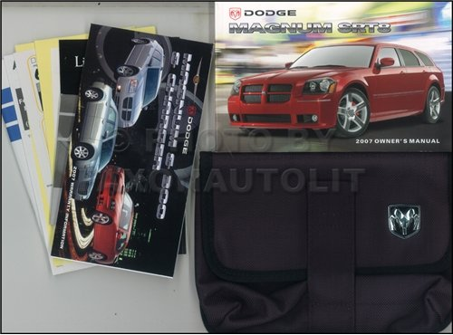 2007-dodge-magnum-srt8-owners-manual-original