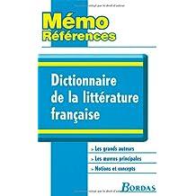 Dictionnaire de la littérature française