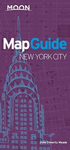 Moon MapGuide New York City by Julie Meade (2015-08-18) - York New Mapguide