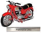 Pannonia 250 Rot DDR Atlas Collection 1/24 Modellcarsonline Modell Motorrad