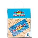 Serviette de Bain rafraîchissante Swizzels Sweet Beach Home Vacances Fun Retro Spa Hotel Chic, Refresher, 180cm (H) x 93cm