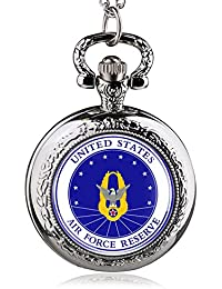 ShopyStore Silver 2016 New Fashion United States Marshal Vintage Pocket Watches Men Boy Gift With