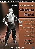 Les chefs-d'oeuvre du cinéma muet : Douglas Fairbanks - Coffret 5 DVD (Les Trois Mousquetaires - Robin des bois - Le voleur de Bagdad - Le pirate noir - Le masque de fer)