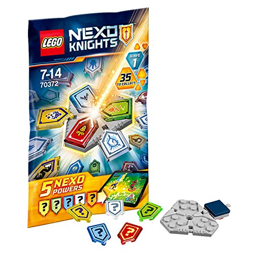 NEXO KNIGHTS BUSTE 70372 COMBO NEXO FORCES SERIE 1
