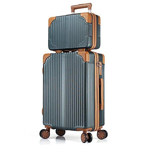 Outdoor-Tourismus Koffer Kleine Frische Leder Koffer Passwort Trolley Student Männer Und Frauen Universal Rad Koffer Reisetaschen Größe: 35X23X50cm XXBB