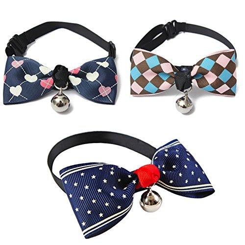 Bow Haustier Hunde Katze Krawatte (Dot) - 4