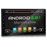 "XOMAX XM-2VA701 Android 6.0.1 Autoradio / Moniceiver / Naviceiver avec navigation GPS + Écran tactile de 7""/18cm 16:9 HD (800x480 px) + Support WIFI + Connexion Bluetooth avec fonction mains-libres + Port USB (jusqu'à 2TB) + Fente pour cartes Micro SD (jusqu'à 256 GB) + DVD/CD + Mémoire interne 16GB + Connexions subwoofer, caméra recul, commandes au volant + Dimensions Standard DIN double + Antenne GPS inclus"