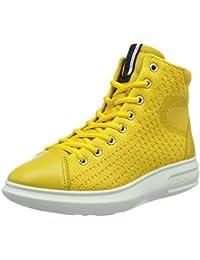 Ecco Damen Soft 3 Hohe Sneakers