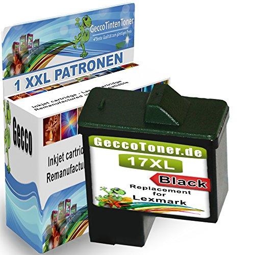 1x cartucce di inchiostro compatibile con Lexmark 1x 17 XL
