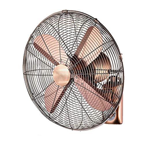 LRGBS Ventilador De Pared Retro , Ventilador De Pared Oscilante Comercial Industrial, Temporizador...