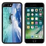 MSD Premium Apple iPhone 7 Plus Aluminum Backplate Bumper Snap Case iPhone7 Plus IMAGE ID 20083184 fishermen on a canoe in a beautiful lagoon