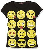 Jolly Rascals Ssemojit, Camiseta Nias, Negro (Black), 9-10 Años