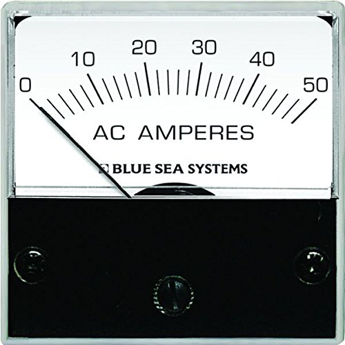 Blue Sea Systems 0-50 A AC Micro Amperemeter mit Coil Micro Analog Systems