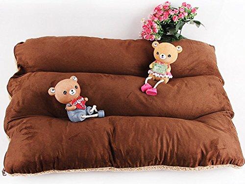 Komia Hundebett für Hund Outdoor Indoor 95cm X 60cm Hundebett Square Bett für hunde Beseitigung Falsche Sherpa - 4