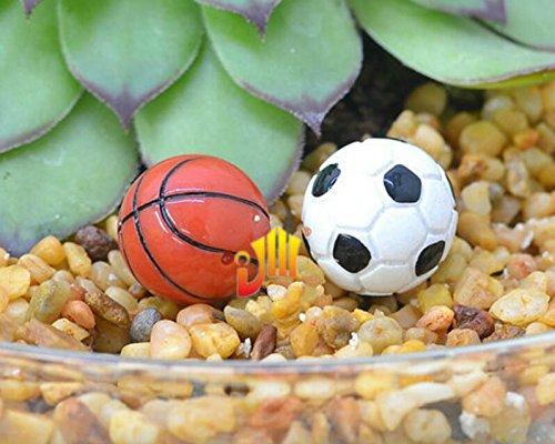 rnamente 1:12 Maßstab Basketball Puppenhaus Miniatur Zubehör ()