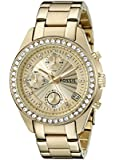 Fossil Damen-Chronograph Dress gold ES2683