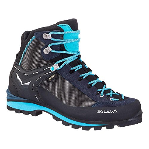 Salewa WS CROW GTX, Damen Trekking- & Wanderstiefel, Blau (Premium Navy/ethernal Blue 3985), 38 EU (5 UK)