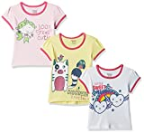 #6: Donuts Baby Girls' T-Shirt (Pack of 3) (272518284_Assorted_12M)