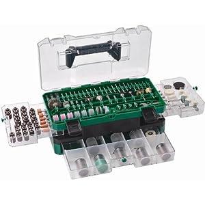 51bU yFhSoL. SS300  - Hikoki 753949 - Juego de accesorios para amoladora recta 389 piezas