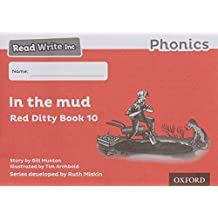 Read Write Inc. Phonics: Black and White Red Ditty Books Pack of 100