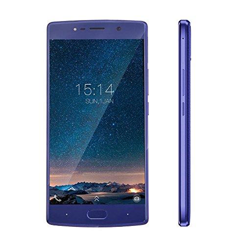 Hillrong DOOGEE BL7000 Android 7.0 4G 7060mAh RAM 4 GB + ROM 64 GB Speicher Telefon (Blau)