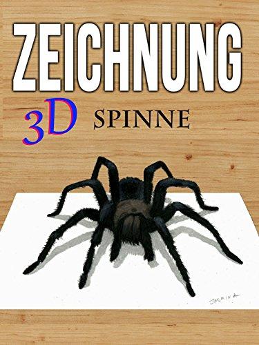 Clip: Zeichnung 3D Spinne