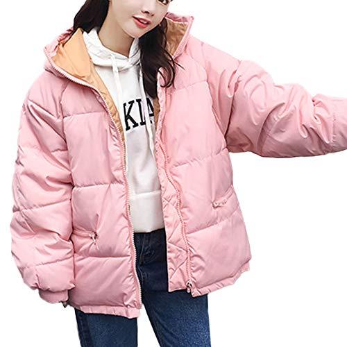 TianWlio Mäntel Frauen Weihnachten Damen Mantel Langarm Strickjacke Jacke Outwear Herbst Winter Winter Warme Oberbekleidung Kapuzenmantel Baumwolle Gefütterte Jacke