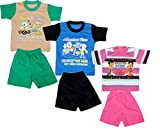 IndiWeaves Girls Pure Cotton Baba Suit
