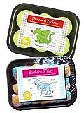 Witzige Süßigkeiten Schaumzucker Geschenk Set 2 teilig bunt (Bundle)