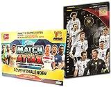 Topps Match Attax Adventskalender 2017-2018 und Panini - Die Deutsche Nationalmannschaft Adventskalender - je ein Kalender