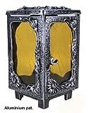 Grablaterne Issum Aluminium pat., Höhe 25cm