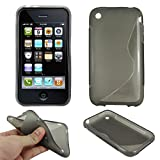 ebestStar - Compatible Coque iPhone 3 3GS Apple Etui Housse Silicone Gel TPU Souple...