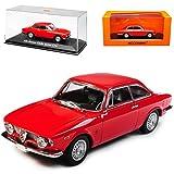 alles-meine.de GmbH Alfa Romeo Giulia Sprint GTA Coupe Rot 1962-1978 1/43 Minichamps Maxichamps Modell Auto mit individiuellem Wunschkennzeichen