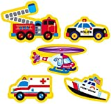 208 x Rescue Vehicle Stickers for Children