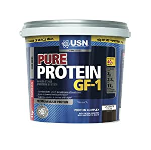USN Pure Protein GF-1 Aliment Complémentaire Sportif Chocolat 4 kg