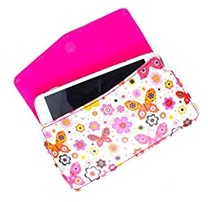 DooDa PU Leather Case Cover With Magnetic Closure For Lava Iris 350M