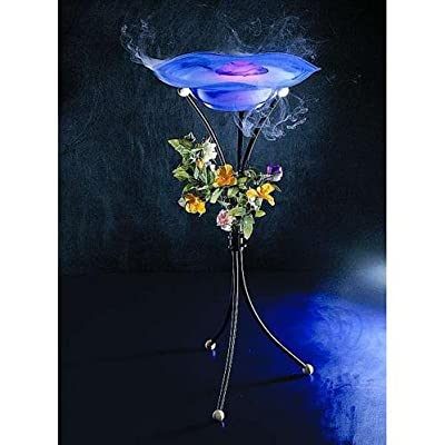 Standnebler mit blauer Glasschale Mystic Pond von ETT - Lampenhans.de