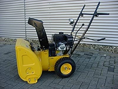 Schneefräse RSF65 Gelb Radantrieb Benzinmotor 5-7 PS Elektrostarter