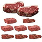 US Black Angus Steak Probierpaket - Strip Loin Steak/Tri Tip/Top Butt Flap Steak