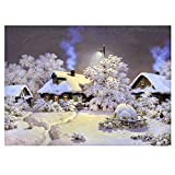 display08 Christmas Snow house 5D Diamant Gemälde DIY Craft Wandbehang Decor Snow House 1M