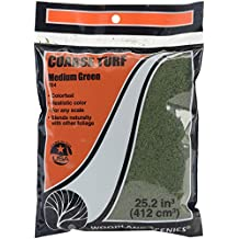 Turf 18 To 25.2 Cubic Inches-Medium Green - Coarse