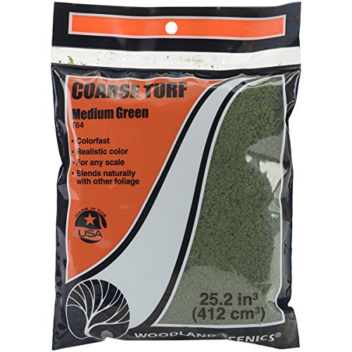 Turf-green Grass (Turf 18 To 25.2 Cubic Inches-Medium Green - Coarse)