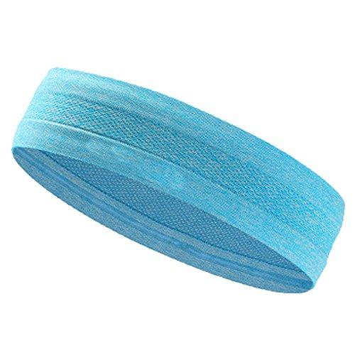 Beonzale Stirnband Haarband Kopfband Unisex Stretch Stirnband Sport Schweiß Schweißband Yoga Haar Kopfband Sport Yoga -